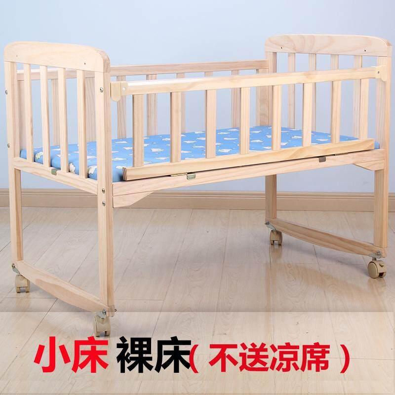 ขนาดเล็กเตียงเด็กทารกสไตล์ยุโรปแบบพกพาสะดวกมัลติฟังก์ชั่นเตียงเหล็ก Petpet เตียงนอนเป็นมิตรต่อสิ่งแวดล้อมเตียงเด็กรถเข็นเตียงเล็กพร้อมมุ้งกันยุงลูกกลิ้ง By Taobao Collection.