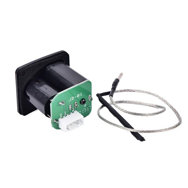 Phân phối PRIY Ukulele Ukulele Piezo Pickup Preamp 3-Band EQ Equalizer Tuner Hệ Thống Màn Hình LCD