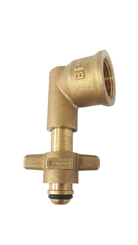 GMAX ข้อต่อแก๊สปิกนิกทองเหลือง รุ่น LTP006 สำหรับแปลงถังแก๊สปิกนิก 4 Kg. เข้าเตาแก๊สทุกประเภท