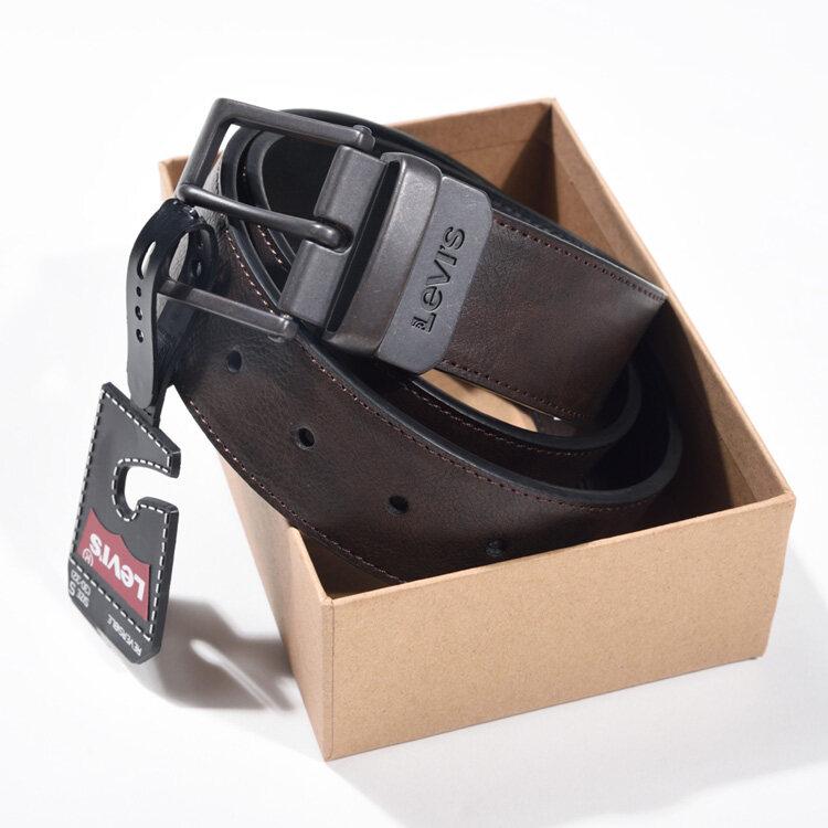 ของแท้!! เข็มขัดลีวายส์ ลีวาย Levis Belt หมุนหัวเข็มขัดได้ใส่ได้สองด้าน เข็มขัดหนังแท้ Leather Belt เข็มขัดผช.