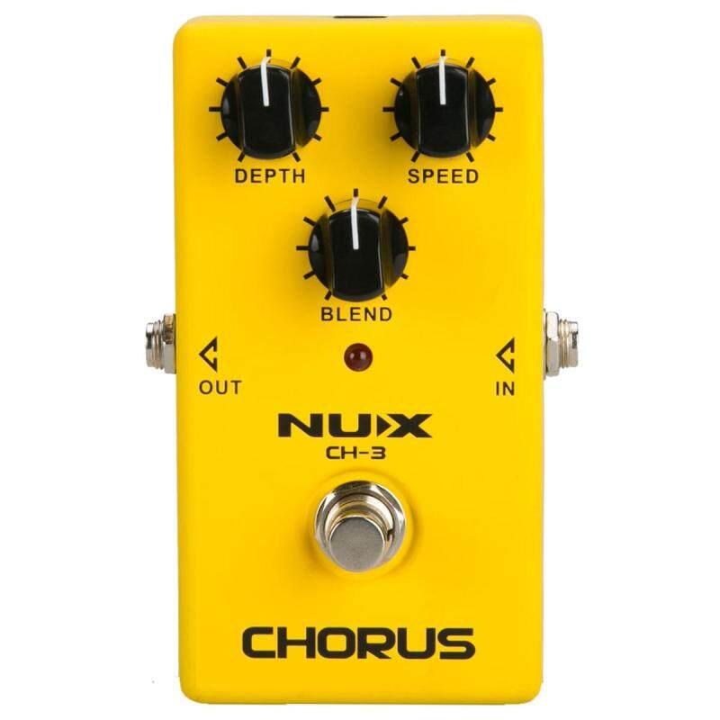 NUX CH-3 Guitar Effect Pedal Chorus Guitar Effect Pedal True Bypass Design Durable Aluminum alloy Shell Guitar Accessories Malaysia
