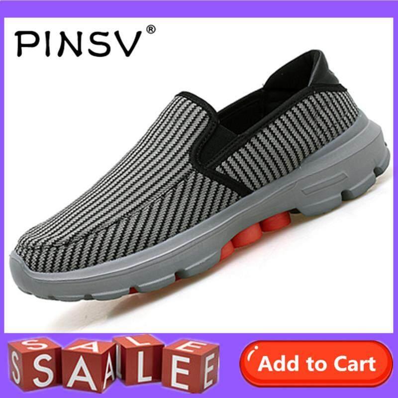 Pinsv Besar Ukuran 37-45 Pria dan Wanita Dapat Bersirkulasi Sneakers  Berlari Olahraga Sepatu Sepatu 16e52899c7
