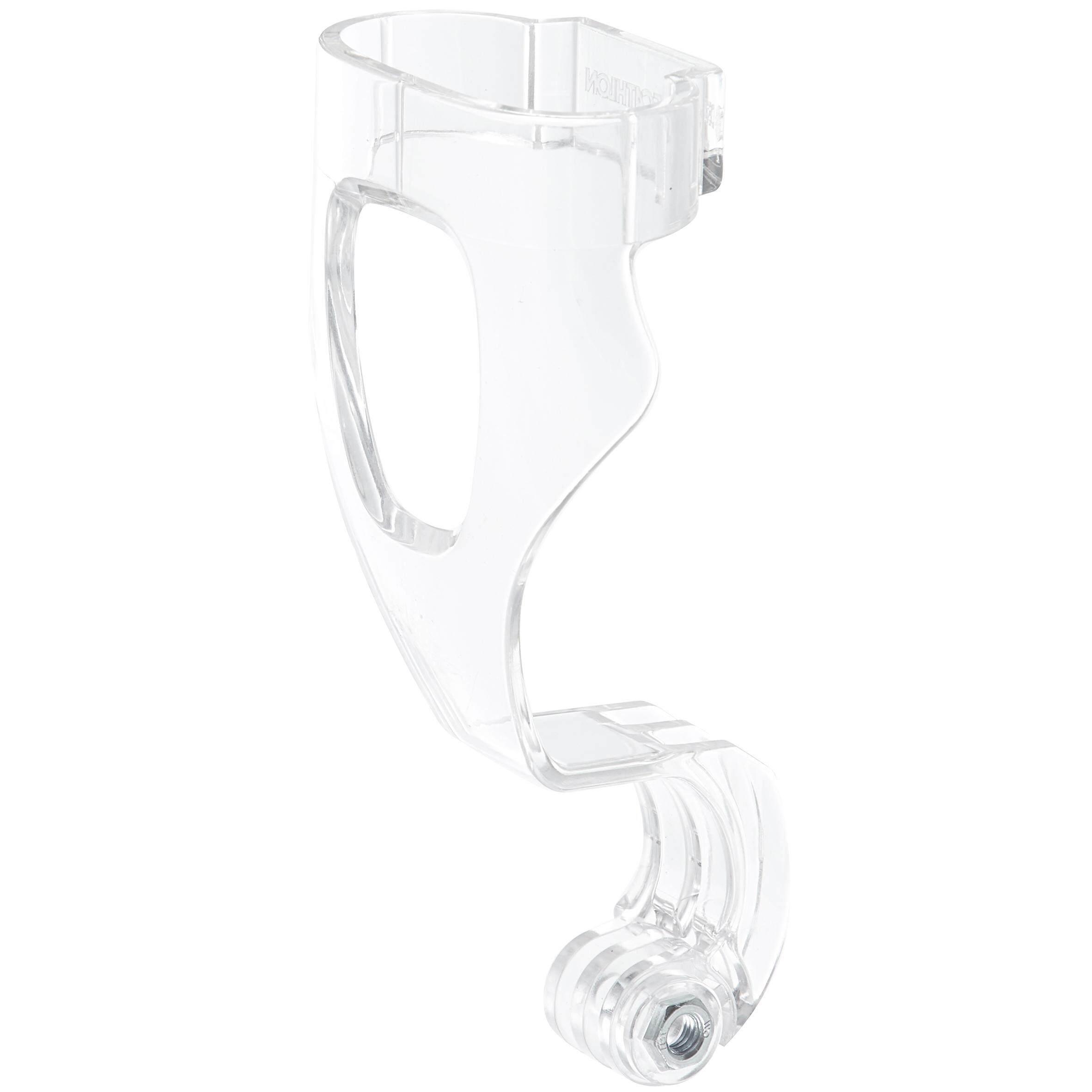 [ด่วน!! โปรโมชั่นมีจำนวนจำกัด] ที่ยึดกล้องกันน้ำสำหรับหน้ากากดำน้ำตื้น EASYBREATH (โปร่งใส) สำหรับ ดำน้ำ