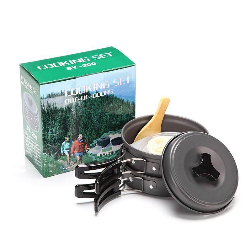 ชุดหม้อสนาม ปิคนิคแบบพกพา 8-In-1 อุปกรณ์ทำอาหารตั้งแคมป์ 8-In-1 Mini Outdoor Cooking Picnic Tool Sy-200 By Autospeed.