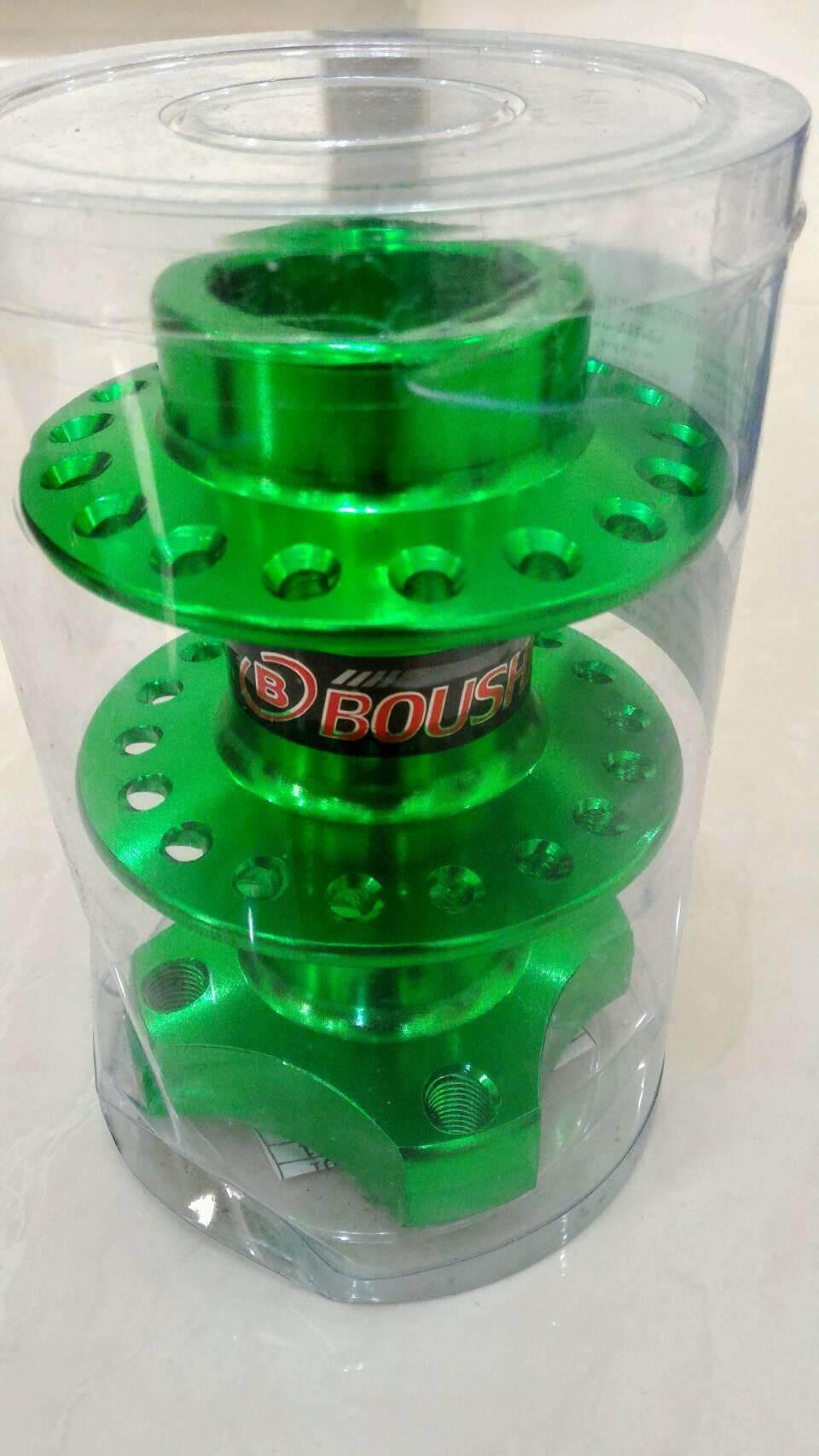 ราคา ดุมย่อล้อหลังไม่มีดิส แท้100%จากโรงงาน BOUSHI THAILAND สำหรับ เวฟทุกรุ่น ดรีมซุปเปอร์คัพ โซนิค แดส wave sonic Dash(สีเขียว)ส่งฟรี