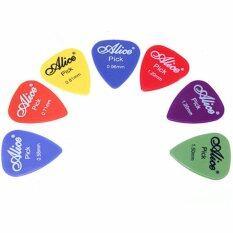 ขาย 100X Electric Acoustic Guitar Picks Matte Plectrums Assorted Thickness Colors Intl Unbranded Generic เป็นต้นฉบับ