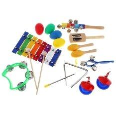 17 ชิ้น/ล็อต 8 Tone ชุดระนาด 9 เครื่องตีของเล่นสำหรับเด็ก/เด็ก/early Education โอคาริน่า - Intl.
