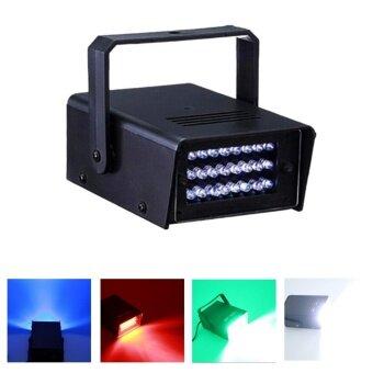 24 LED Mini Halloween Strobe Light DJ Disco Party Club Flash Bar Stage Lighting - intl
