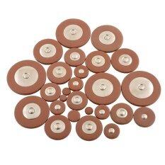 ราคา 26Pcs Alto Saxophone Coffee Color Pads Kit Replacement Repair Synthetic Leather Intl เป็นต้นฉบับ Unbranded Generic