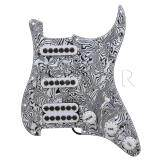 ซื้อ 3 Ply Ssh Pickguard Pickup For Electric Guitar Black White Zebra Color Intl ถูก Thailand