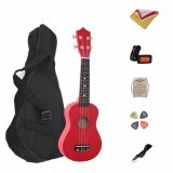 ขาย 7 In 1 21 Inch Wood Concert Ukulele With Free Bag Tuner Strap Spare String Wiper Ukulele Pick Intl จีน ถูก