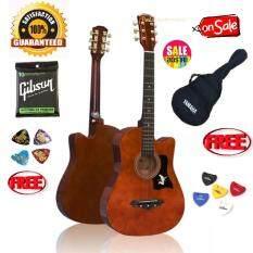 Acoustic Guitar Passion Ps 38 สีโอ๊ค กระเป่ากีต้าร์ Yamaha กันน้ำ อย่างดี ปิ้กกีต้าร์ Gibson 2 อัน ที่เก็บปิ๊ก และสายกีต้าร์ Gibson Usa อย่างดีมูลค่า 900 บาท Passion ถูก ใน กรุงเทพมหานคร