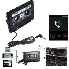 Adapter Car Audio Cassette Casette Tape 3.5mm Aux Audio For Mp4 Cd Ipod Iphone - Intl .