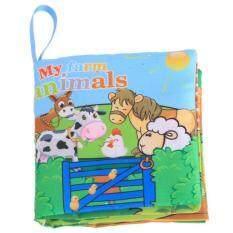 Ai บ้านเด็กก่อนวัยเรียนการพัฒนาสติปัญญาหนังสือผ้าฟาร์มสัตว์.