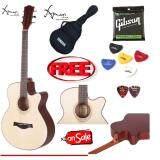 ราคา Amari By Enya Am408C ไม้มะฮอกกานี แถมฟรี ที่เก็บปิ๊กกีต้าร์ กระเป๋า Yamaha สายกีตาร์อีก 1 ชุด Gibson Usa ปิ๊ค Fender 2 อัน ปิ๊คการ์ด มูลค่ารวม 800 บาท ใหม่