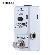 ซื้อ Ammoon Ap 09 นาโนชุดห่วงกีตาร์ไฟฟ้า Pedal Looper ทรูบายพาสไม่จำกัด Overdubs 10 นาทีพร้อมสายยูเอสบี นานาชาติ ถูก ฮ่องกง