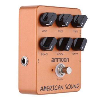 Ammoon AP-13 American Sound Amp Simulator Pedal True BYPASS