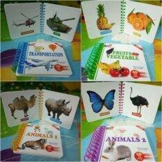 Ar Magic Card Book หนังสือภาษาอังกฤษ 4d เซต 5 เล่ม.