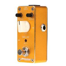 ราคา Aroma Adl 3 Mini Delay Electric Guitar Effect Pedal With Fastener Tape Aluminum Alloy Housing True Bypass ราคาถูกที่สุด