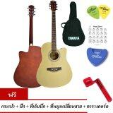 ราคา At First กีตาร์โปร่ง Acoustic Guitar 41 รุ่น Ag009N กระเป๋า ปิ๊กกีตาร์ Alice 2 อัน ที่เก็บปิ๊กกีตาร์ ที่หมุนเปลี่ยนสายกีตาร์ ตารางคอร์ด