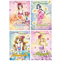ทบทวน ที่สุด Athens Publishing สมุดระบายสีและแต่งตัวตุ๊กตา ชุดละ 4 เล่ม