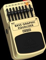 ซื้อ Behringer เอฟเฟคเบส รุ่น Beq 700 Bass Graphic Equalizer ถูก ใน ไทย