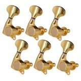 ส่วนลด Bolehdeals Tuning Pegs String Tuners For Electric Guitar Replacement Parts Sealed 6R Intl Bolehdeals