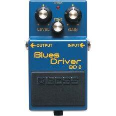 ทบทวน Boss เอฟเฟค Bd 2 Blue Driver สีน้ำเงิน