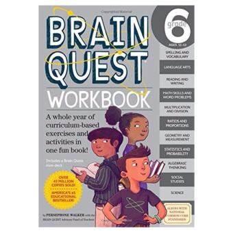 BRAIN QUEST WORKBOOK: GRADE 6-