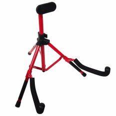 ซื้อ Carlsbro ขาตั้งกีตาร์ แบบพับได้ รุ่น Dg096A ขาวางกีตาร์ ขาตั้งกีตาร์โปร่ง ที่วางกีตาร์ สีแดง ออนไลน์
