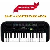 ราคา คีย์บอร์ด Casio รุ่น Sa 47 Adapter Casio Ad 5X ที่สุด