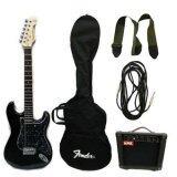 ราคา Century กีตาร์ไฟฟ้า 3 T Bk แอมป์ Rock Fg25 กระเป๋าใส่กีตาร์ Fender สายแจ็ค สายสะพาย Pick Gibson 3 ตัว ออนไลน์ ไทย