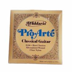 ราคา D Addario Ej46 Pro Arte Classical Guitar Strings Set