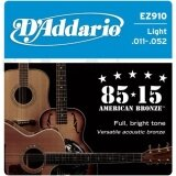 โปรโมชั่น D Addario Ez910 85 15 Light 011 052 สายกีต้าร์โปร่ง D Addario ใหม่ล่าสุด