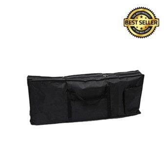 DEVISER 61 Key Electric Keyboard Travel Bag Case Black กระเป๋าคีย์บอรด์ 61 คีย์