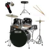 ซื้อ Dream กลองชุด 5 ใบ รุ่น Jbp 0975 สีดำ ใหม่
