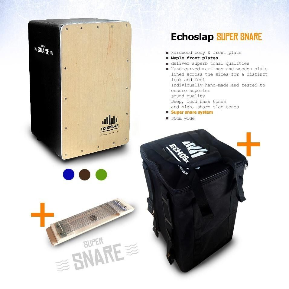 Echoslap supersnare cajon +free bag!!