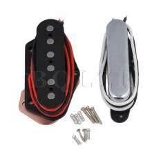 ราคา Electric Guitar Closed Neck Pickups And Bridge Pickups Set Of 2 Silver ใหม่ ถูก