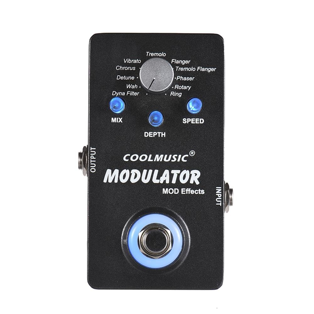 ขายช็อก Electric Guitar Digital Modulator Effect Pedal with 11 Modulation Effects True Bypass Full Metal Shell - intl ซื้อเลย - มีเพียง ฿1,192.13