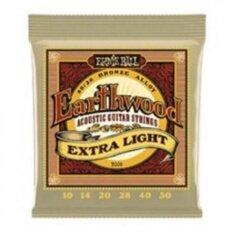 ซื้อ Ernie Ball สายกีตาร์โปร่ง รุ่น Earthwood Extra Light เบอร์ 10 50 ออนไลน์ กรุงเทพมหานคร