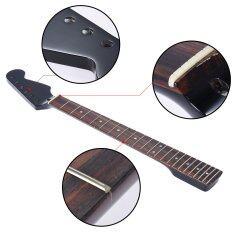 ขาย ซื้อ ประกายเงางาม 22 Frets เปลี่ยนใหม่ต้นเมเปิลคอ Fingerboard Fretboard Rosewood สำหรับ Fender St Strat กีตาร์ไฟฟ้า Outdoorfree สนามบินนานาชาติ ชิลี