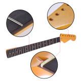 ราคา Exquisite Gloss 22 Frets New Replacement Maple Neck Rosewood Fretboard Fingerboard For Fender St Strat Electric Guitar Outdoorfree Intl เป็นต้นฉบับ