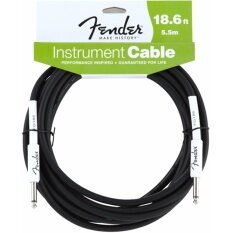 ราคา Fender® สายแจ็คกีตาร์ 5 5M ของแท้ หัวตรงสองด้าน รุ่น Performance Series 18 6Ft Instrument Cable Straight Straight Guitar Cable Guitar Effects Cable สายแจ็คกีตาร์ไฟฟ้า ออนไลน์