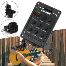 Fishman Presys Blend 301 Acoustic Eq Equalizer Guitar Preamp Piezo Pickup Tuner - Intl.