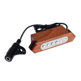 ขาย ซื้อ ออนไลน์ Flanger Fp 02 Magnetic Soundhole Pickup Transducer Wooden For 39 40 41 42 Acoustic Guitar