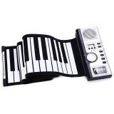 ราคา Flexible 61 Keys Silicone Midi Digital Roll Up Keyboard Piano Intl ราคาถูกที่สุด