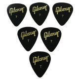 ซื้อ Gibson 6 อัน ปิคกีต้าร์ Thin รูปหยดน้ำ Black Gibson ถูก