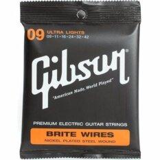 ส่วนลด Gibson สายกีตาร์ไฟฟ้า Ultra Lights