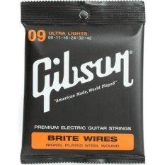 ส่วนลด สินค้า Gibson สายกีตาร์ไฟฟ้า Super Ultra Lights รุ่นG009 09 42