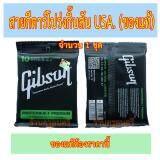 ขาย ชุดสายกีตาร์โปร่งกิ๊บสันของแท้ Gibson Usa เบอร์ 10 Gibson ใน Thailand